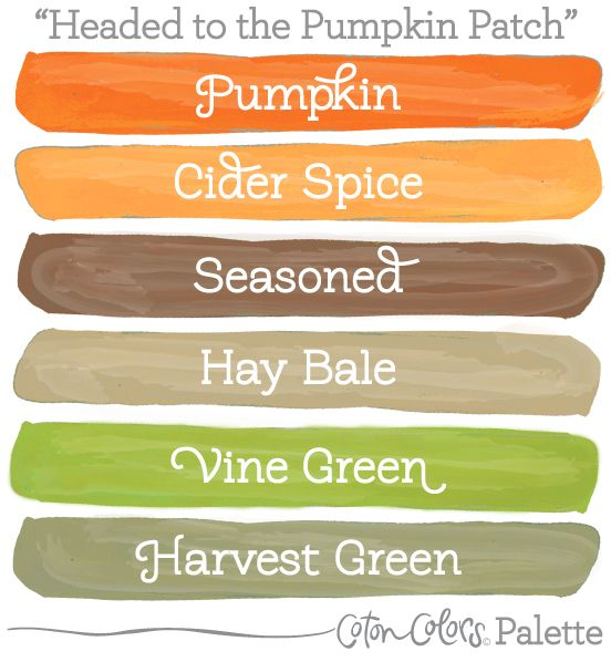 Great Earthy Palette For Autumn Fall Color Schemes Orange Palettes