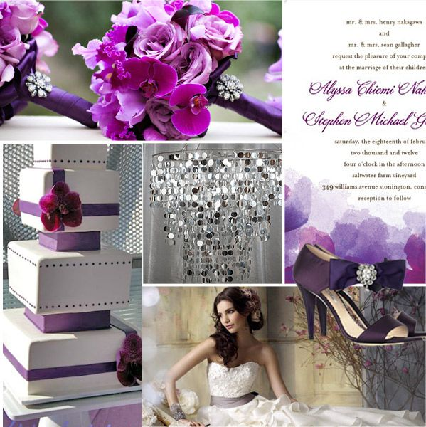 Purple And Pink Wedding Theme Trends And Ideas 2013