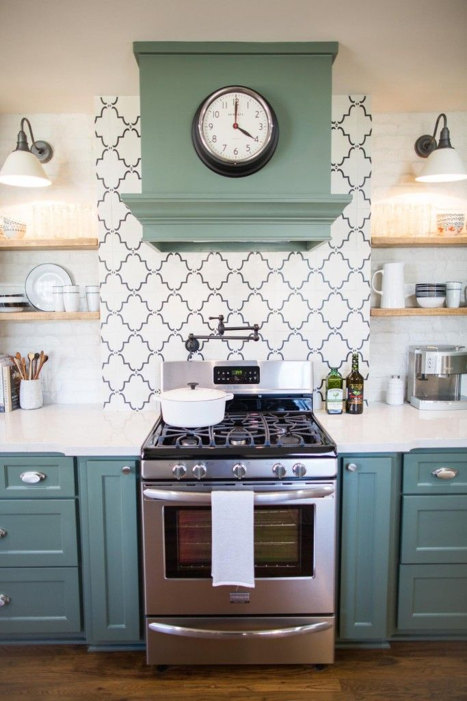 Fixer Upper Season 3 The Chicken House Love The Patterned Tile Backsplash And Placement