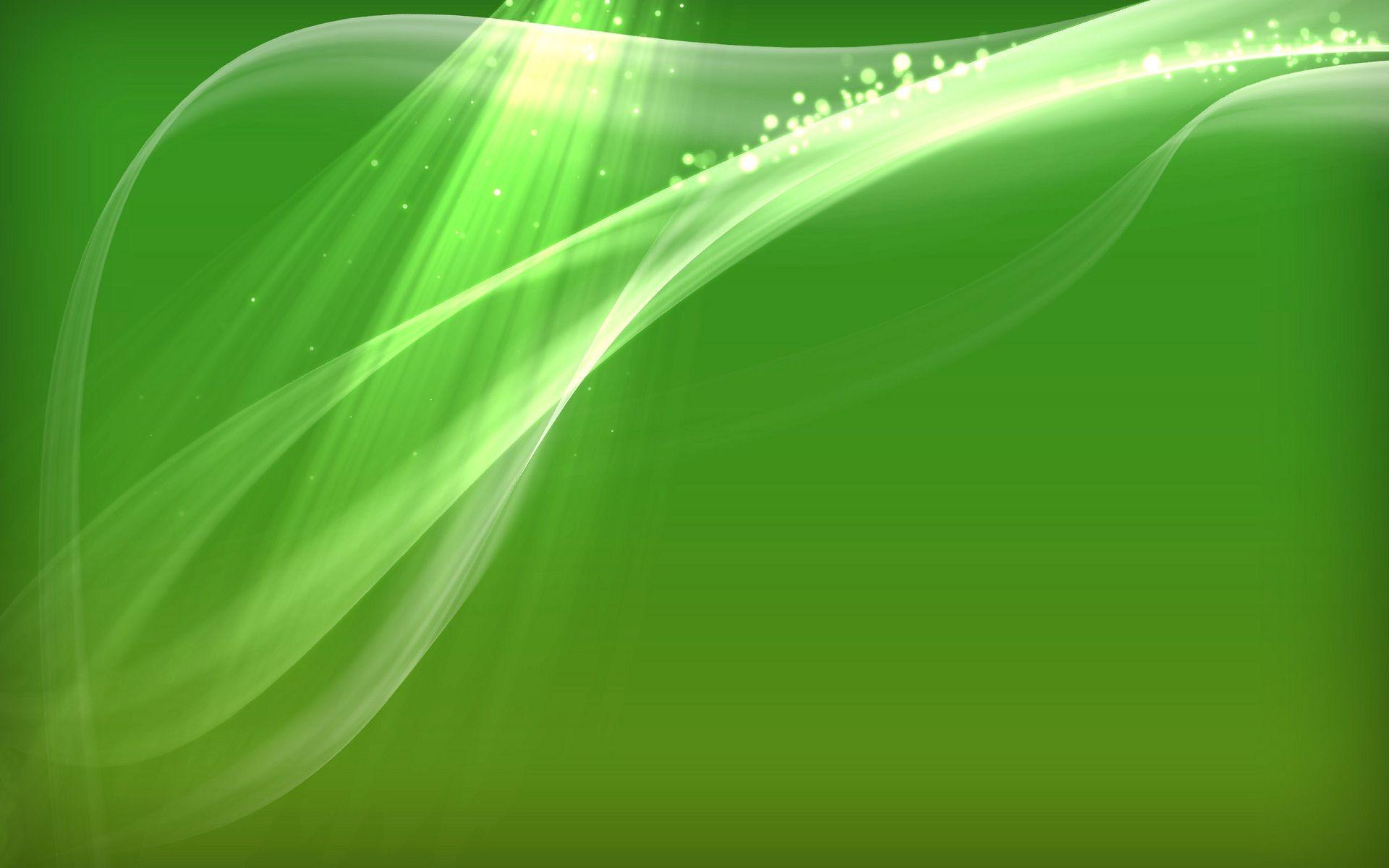 Simple Shnie Green Theme Abstact Desktop Wallpapers