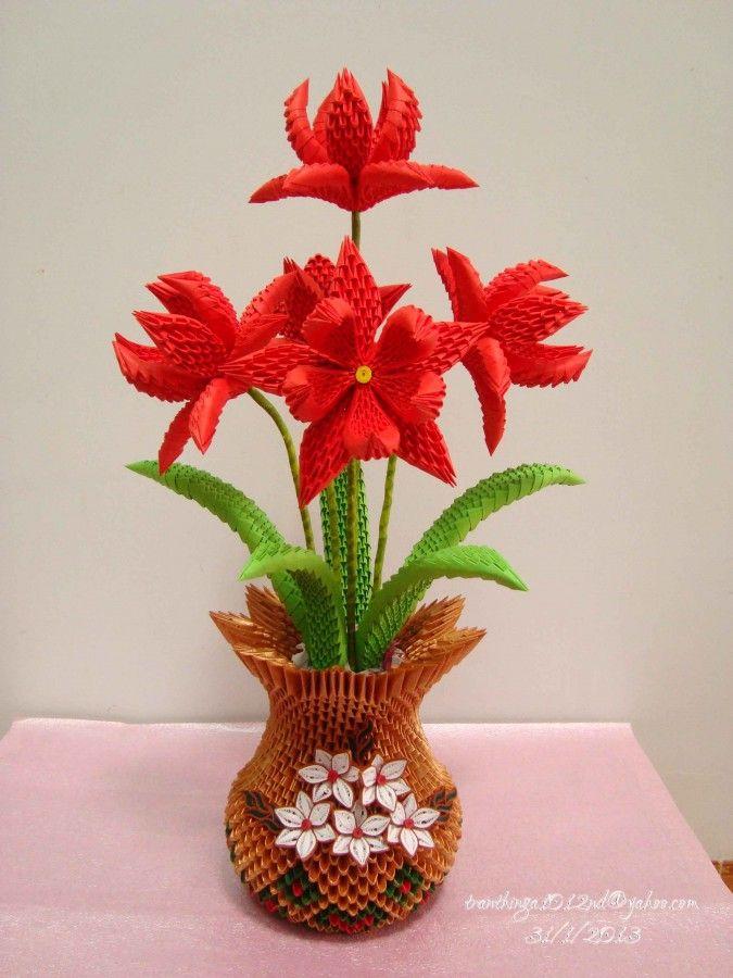 Origami flowers 3d origami flower g daffodilg gift ideas origami flowers 3d origami flower g daffodilg mightylinksfo