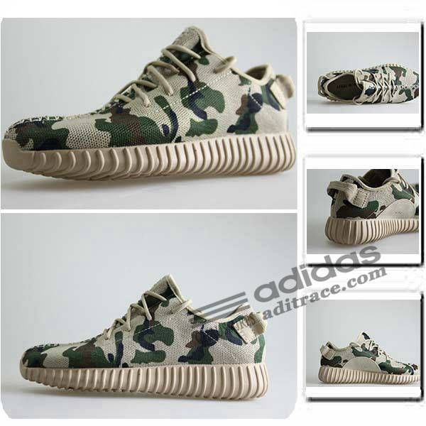 Adidas Yeezy Boost 350 Nouvelles Chaussure Enfant Camouflage