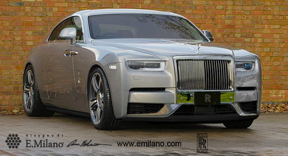 New Rolls Royce >> New Rolls Royce Wraith Could Look Exactly Like This Cars Rolls
