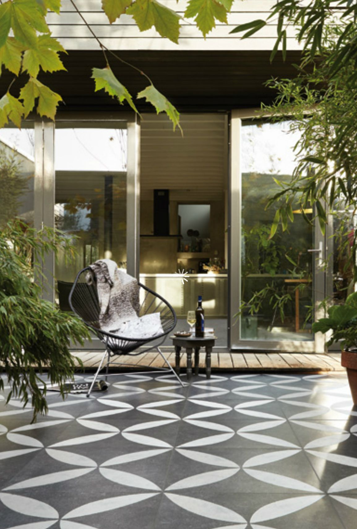 Patio Deck Tiles Recycled Rubber: VT Wonen Buitentegels