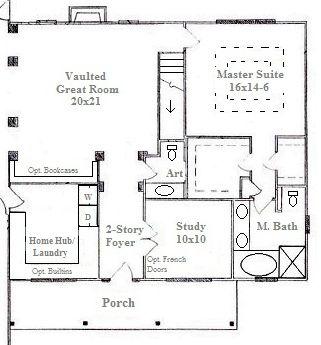 nc custom home design 2012 | powder room design, master