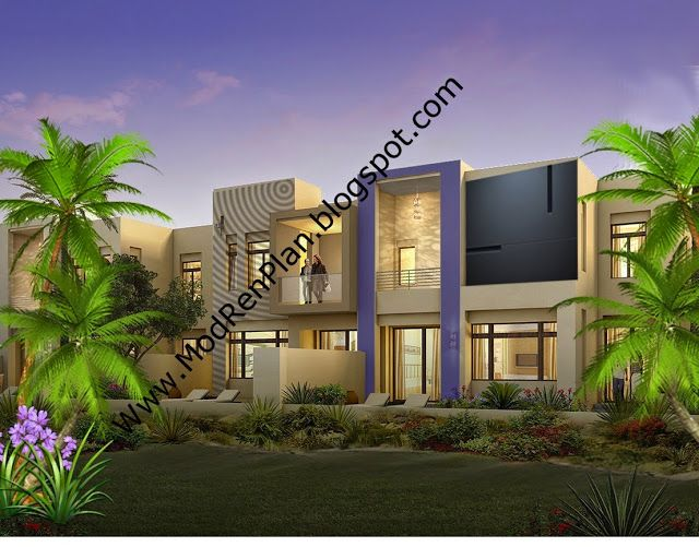 3d Front Elevation Of Houses In Dubai : Arabic house design d front elevation in pakistan