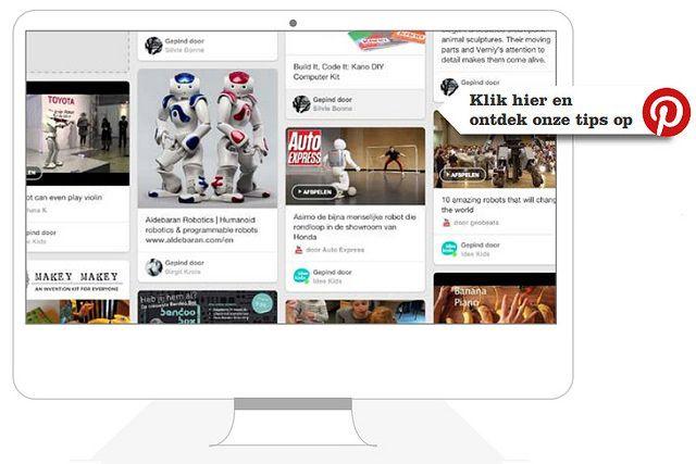 Inspiratie robotica trendrapport 2015 Idee Kids