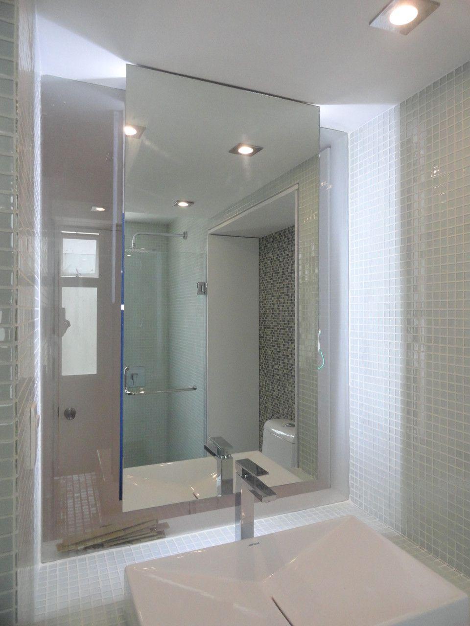 detalle de baño en remodelación de apartamento en Cumbre de Curumo ...