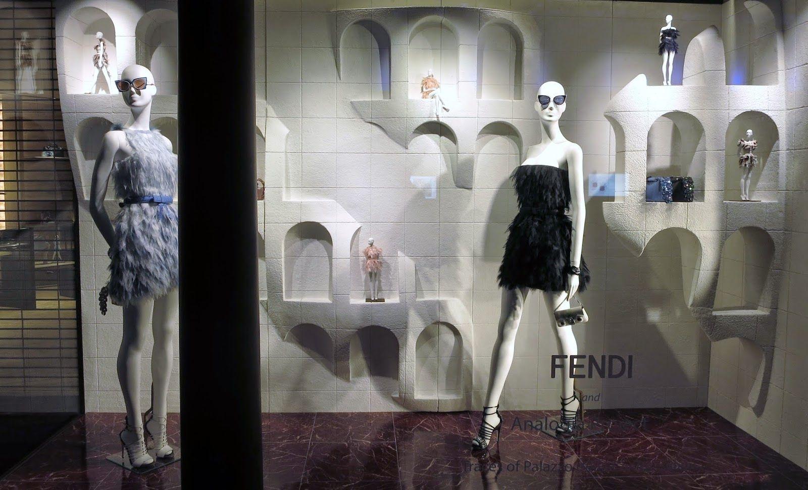 Fendi, London abril 15 #retail #windows #vitrines #vitrinas #escaparates #visualmerchandising Pineado por Pilar Escolano