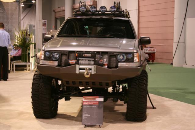 Sweet Sema Jeep Zj Laredo 5 2l V8 Jeep Zj Jeep Grand Cherokee