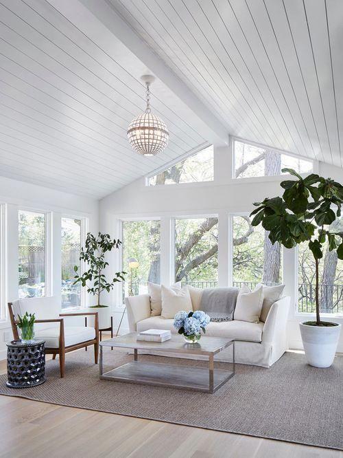 Sunroom design ideas remodels  photos houzz homeinteriordesignwalldecor home interior wall decor in pinterest also rh