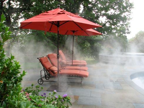 Outdoor Misting Systems Outdoor Misting Systems Luxury Pools Patio