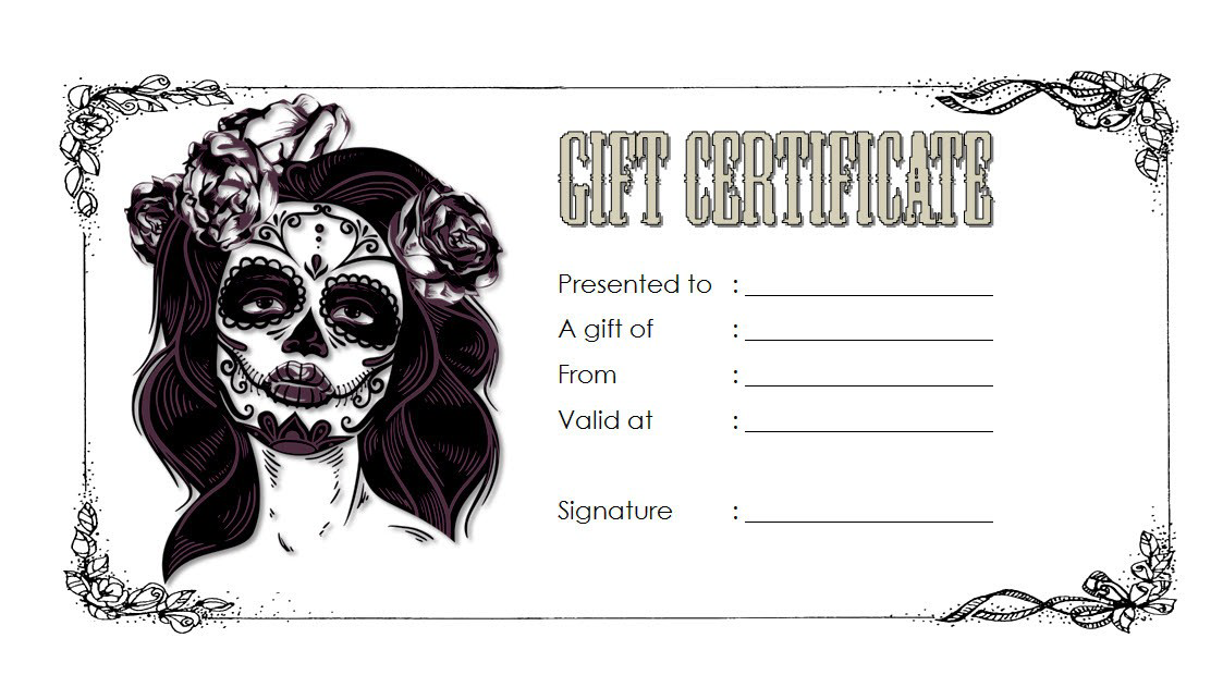 Tattoo Shop Gift Certificate Template Free 3 Gift Certificate Template Certificate Templates Voucher Template Free