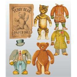 animal paper dolls | Lot of 2: Animal Paper Dolls.