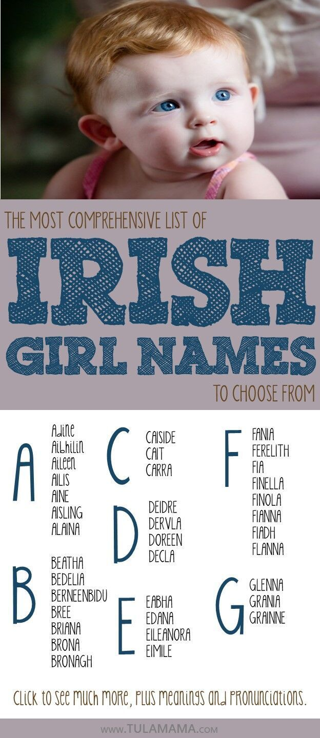 Most Comprehensive List of Irish Names to Choose From