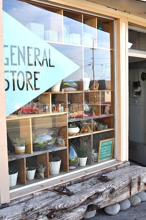 Shoppers Diary New At The General Store In San Francisco Shop WindowsStore Front