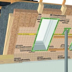 aufbau einer dachd mmung am steildach von innen der d mmstoff wird zwischen den sparren. Black Bedroom Furniture Sets. Home Design Ideas