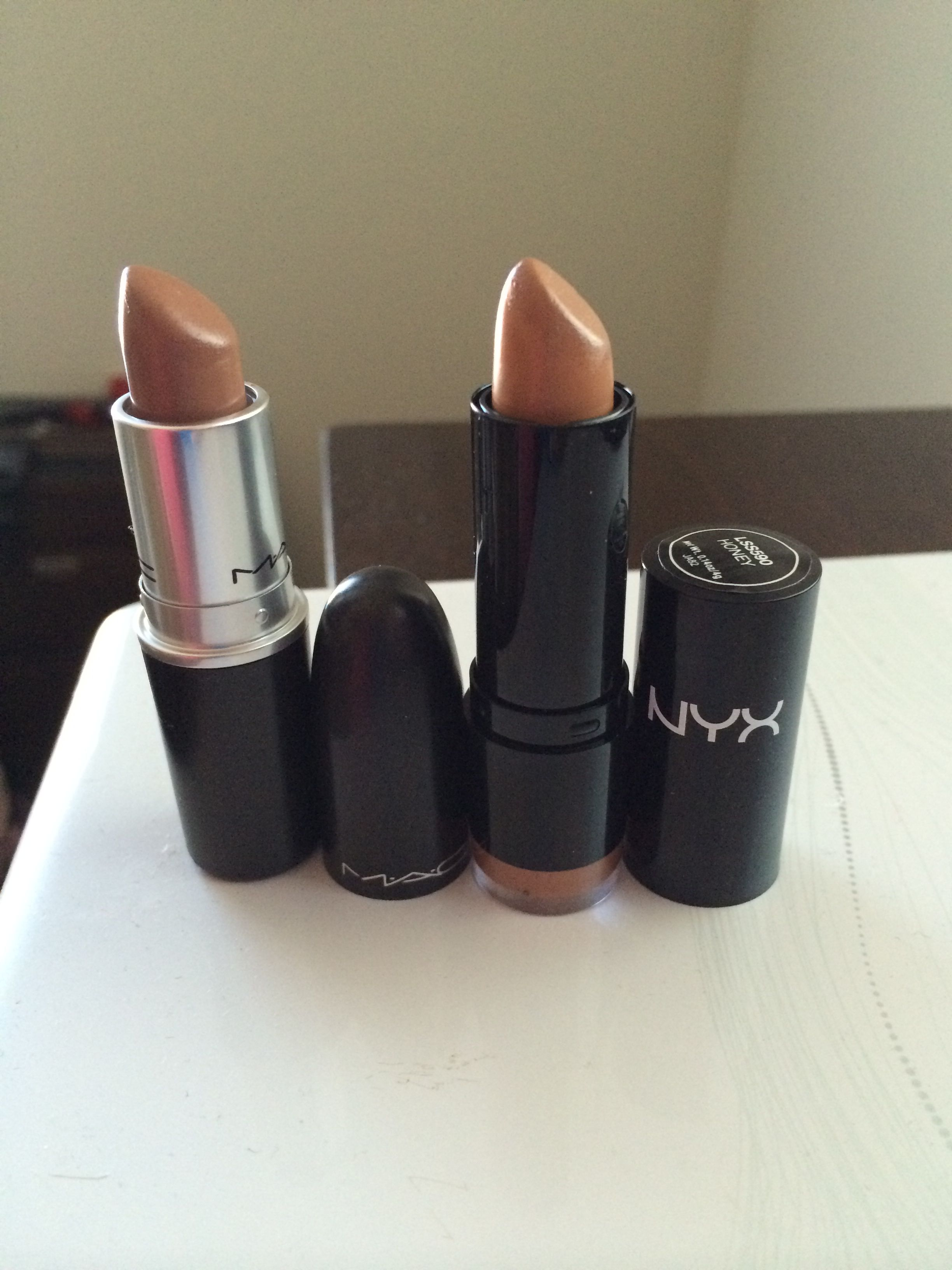 MAC Dupe Alert: NYX Honey Is A Dupe For MAC Fresh Brew