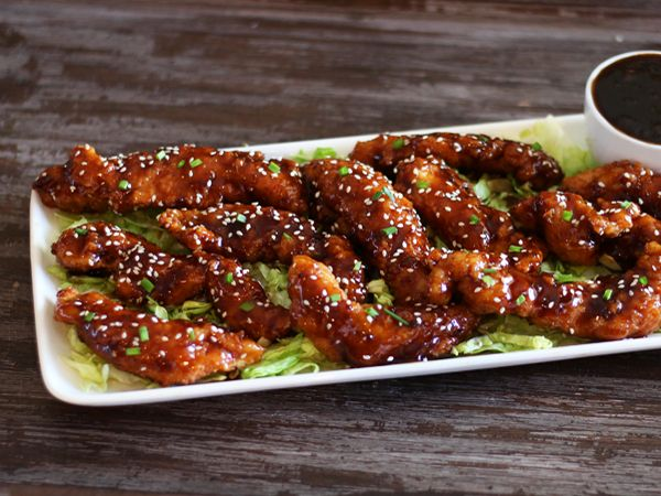T G I Friday S Sesame Jack Strips Chicken Recipes Restaurant
