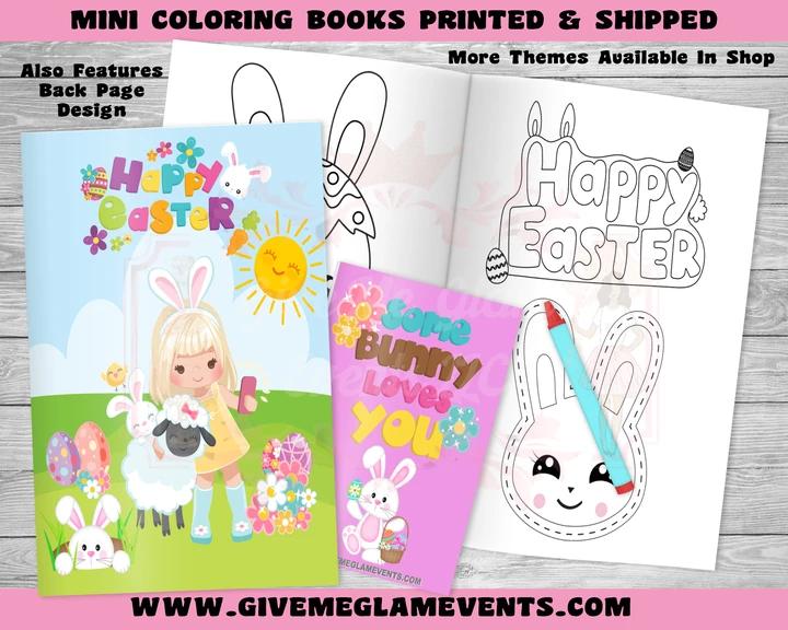 Easter Girls Mini Coloring Books Basker Stuffers In 2020 Easter Coloring Book Coloring Books Custom Easter