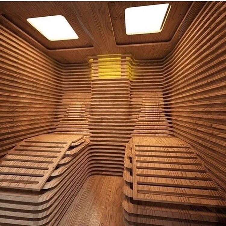 Koehl Karpentry On Instagram I Could Definitely Go For A Sauna Like This On My Back Porch Credit Woodworkcraft Sauna Sauna Design Sauna Diy Outdoor Sauna