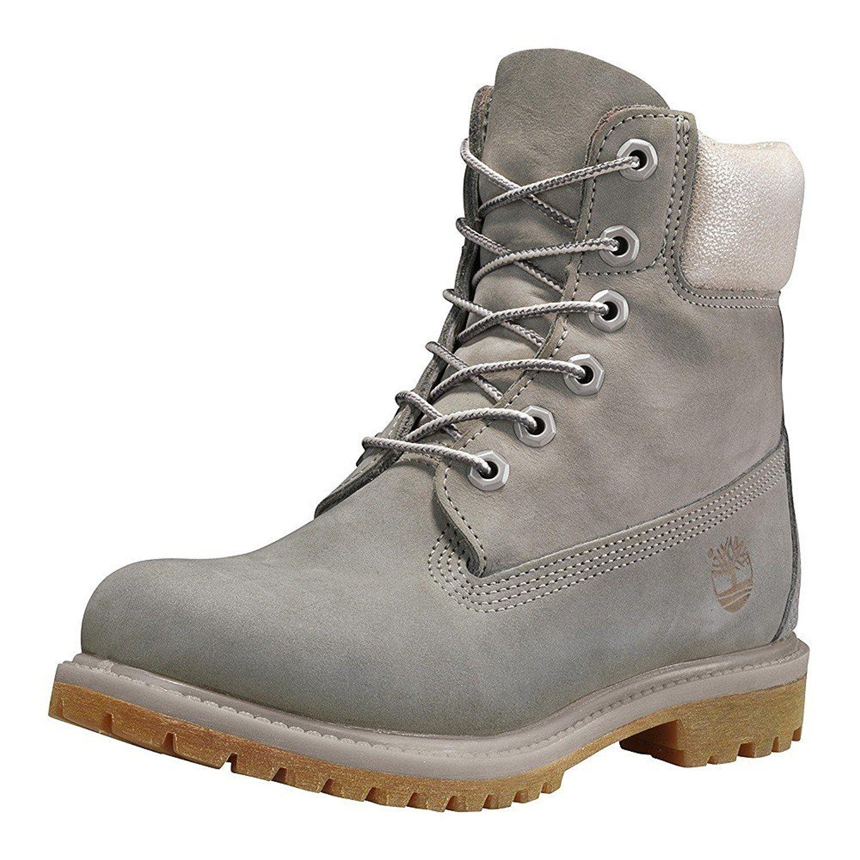 Timberland Womens Anti Fatigue 6 Inch Premium Nubuck Boots