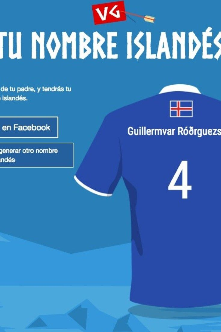 Descubre tu nombre islandés