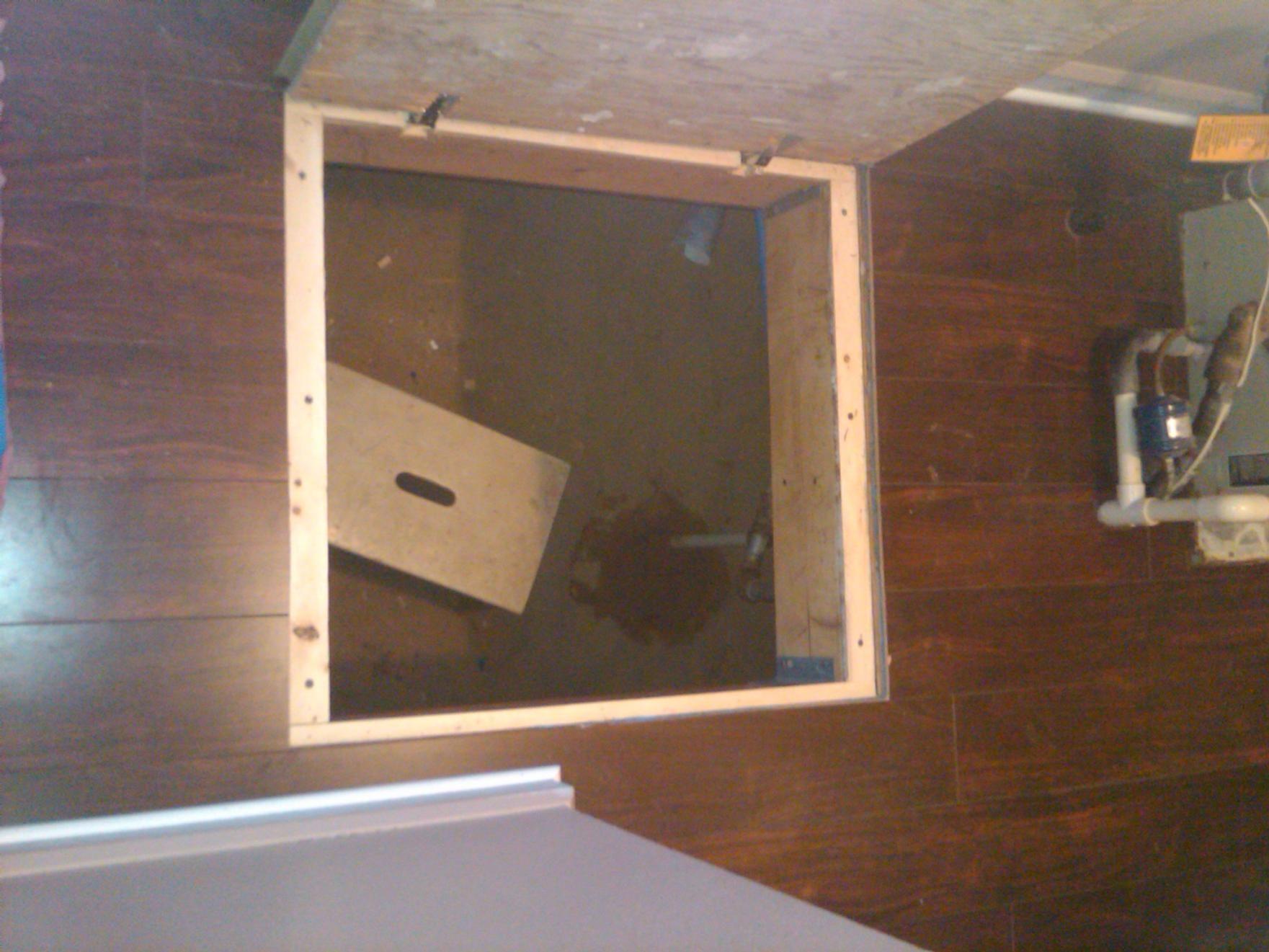 Trap Door Hinges