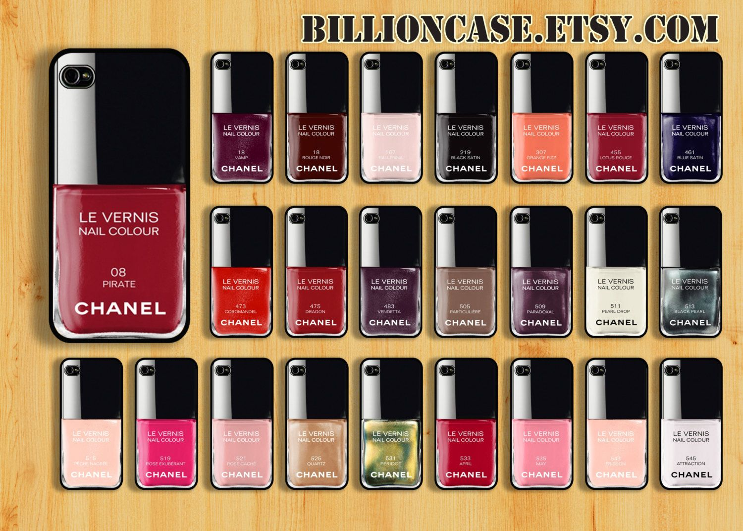 Nail Polish iPhone 5 Case, 24 Colors Choose iPhone 5 Case, iPhone 5 ...
