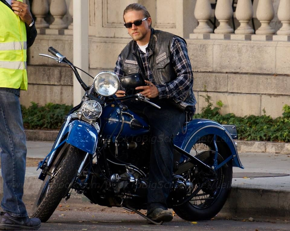 Jax, on his new bike... | sons of anarchy | Pinterest ...