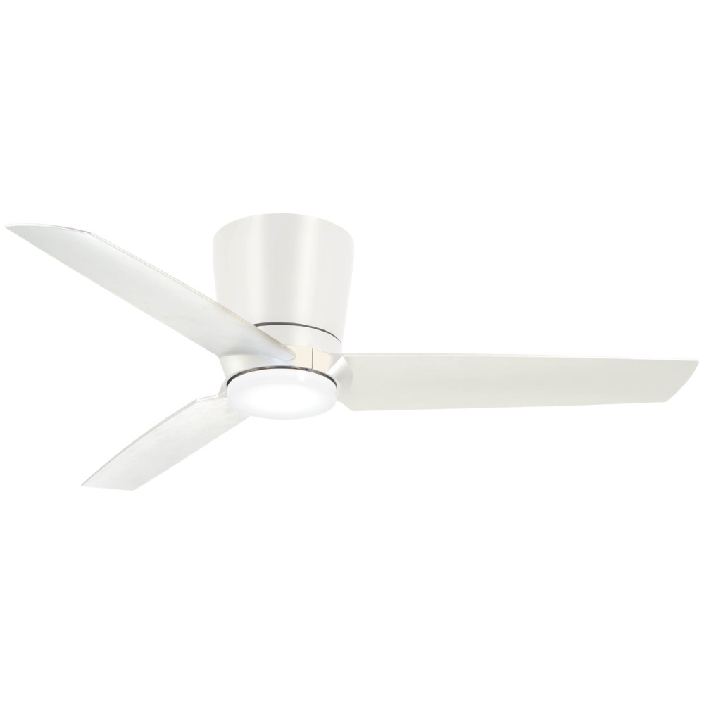 Pure Ceiling Fan With Light By Minka Aire F671l Cl In 2021 White Ceiling Fan Fan Light Ceiling Fan Flush mount white ceiling fans with lights