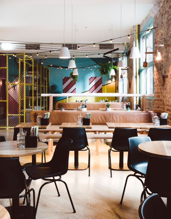 A Mexican Restaurant With A Colorful Modern Twist With Images