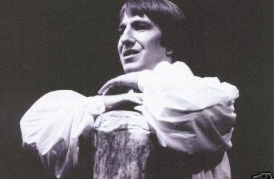 alan rickman on stage