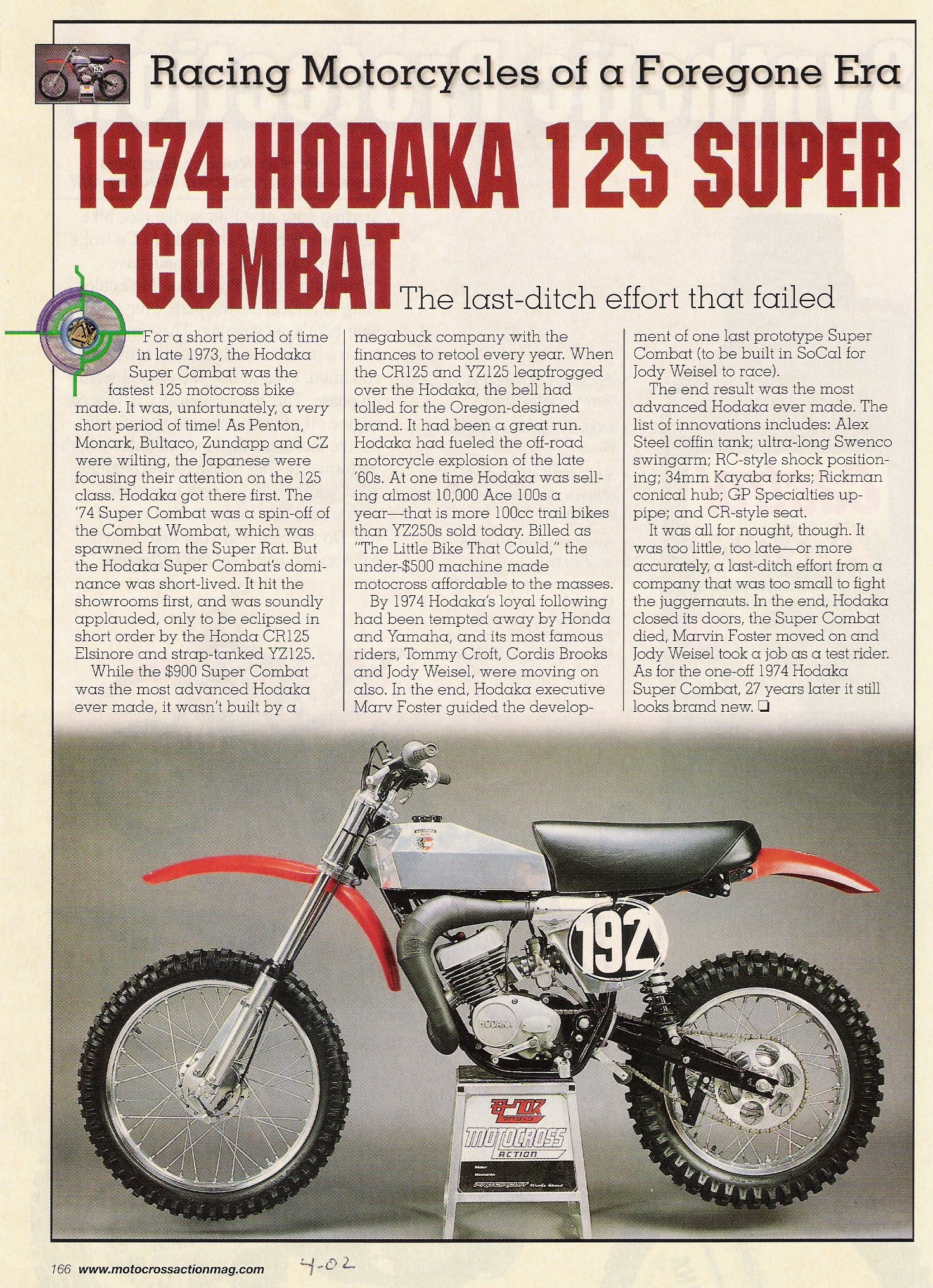Hodaka Motorcycle Dirt Bike Vintage Honda Motorcycles Motocross Bikes