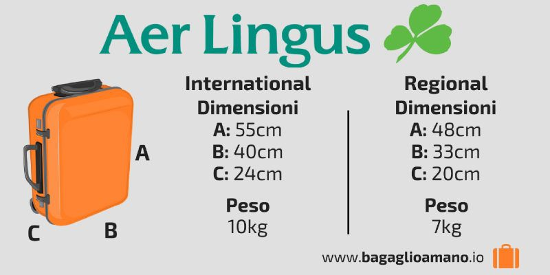 Guida al Bagaglio a Mano Aer Lingus