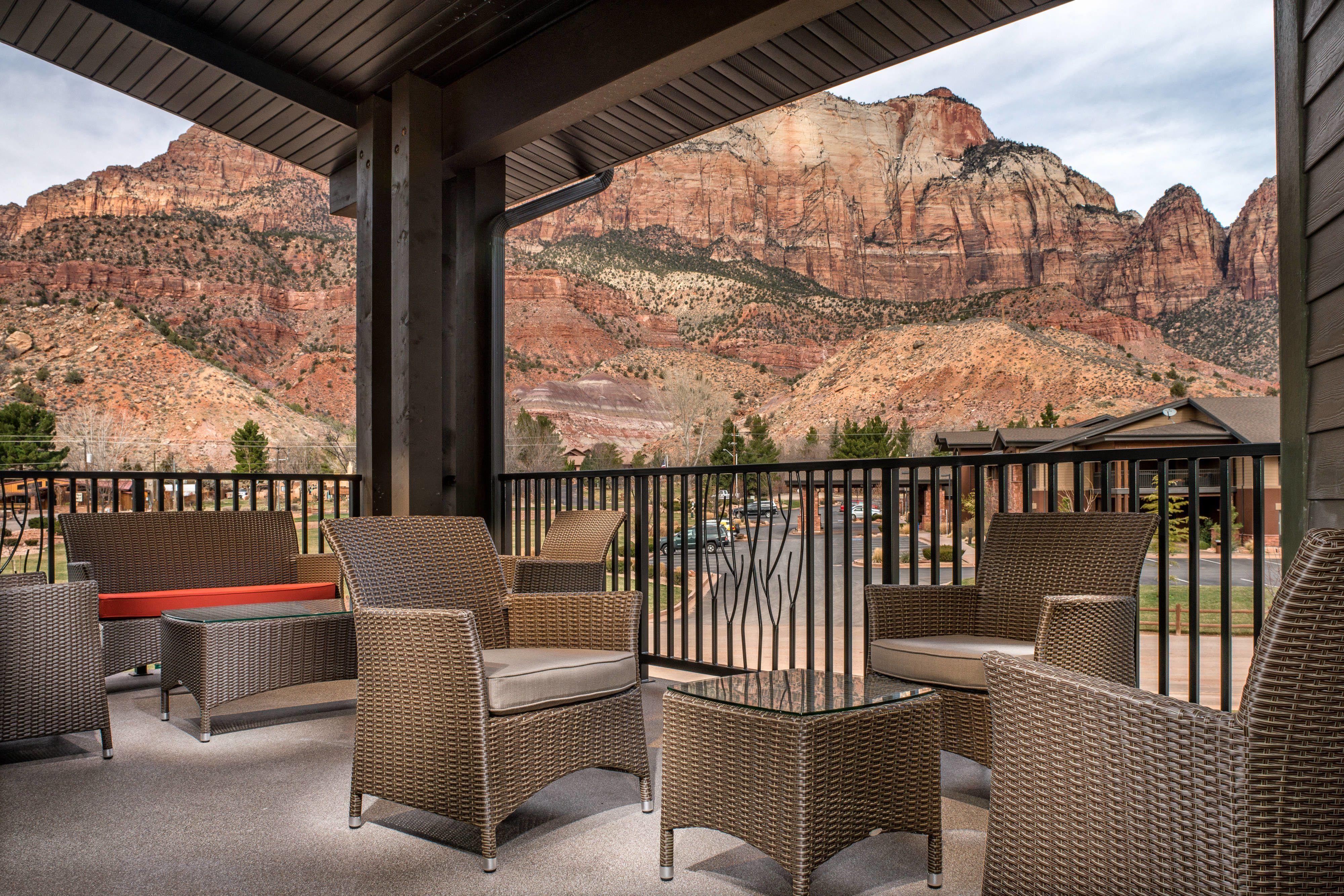 Springhill Suites Springdale Zion National Park Balcony Hotels