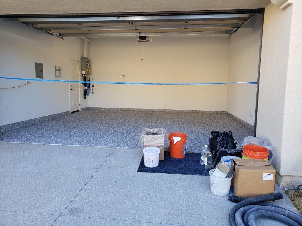 Garage Floors 1 Day Orange County Epoxy Coatings Garage Flooring Orange County Garage Flooring I Garage Floor Epoxy Garage Floor Garage Door Weather Seal