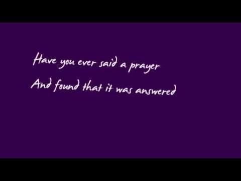 Have u ever been in love lyrics