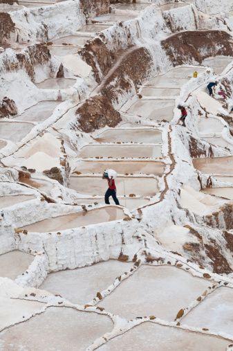Salt Mines in Maras, Sacred Valley of the Incas, #Peru