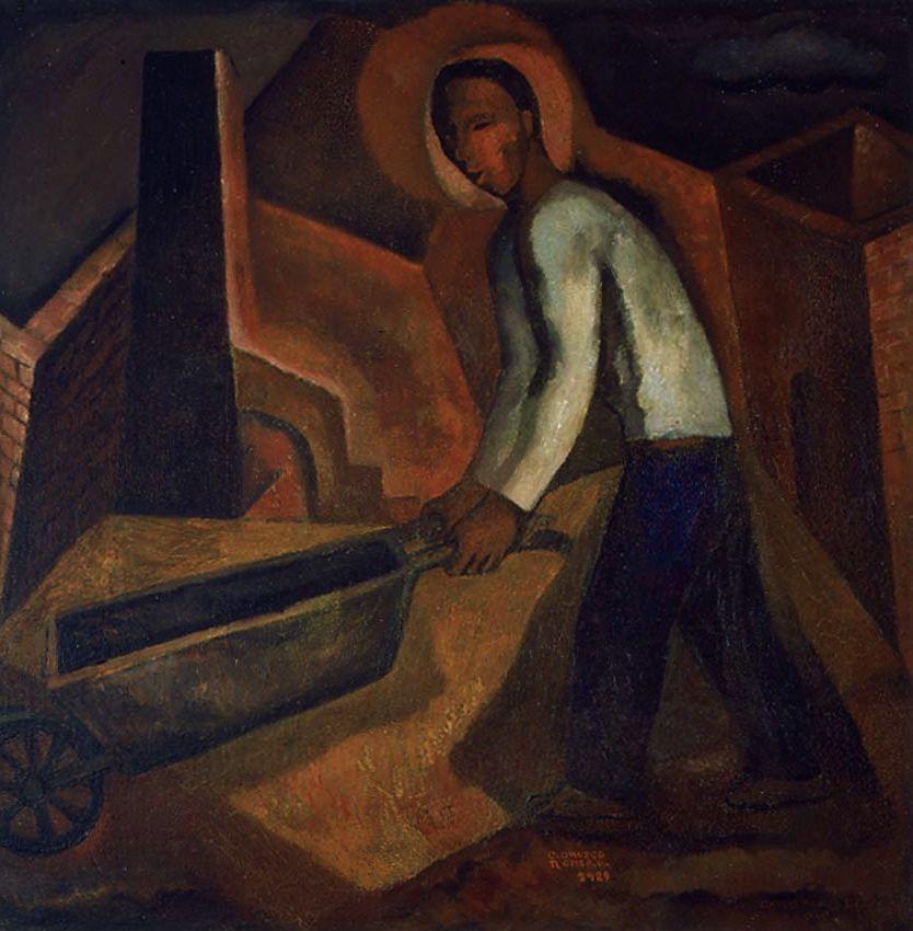Carlos Orozco Romero - El minero, 1929