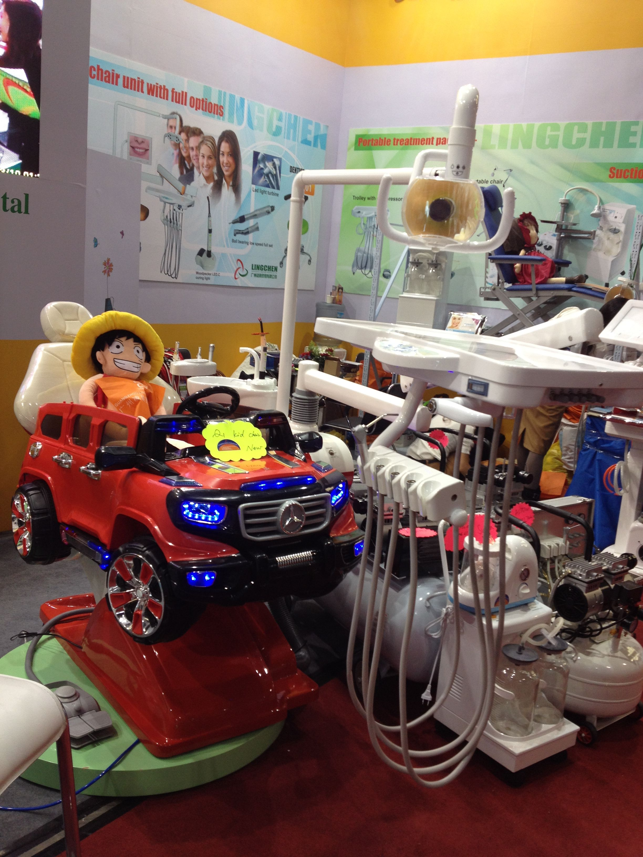Kids Dental Chair With Cool Looking Kids Would Like It So