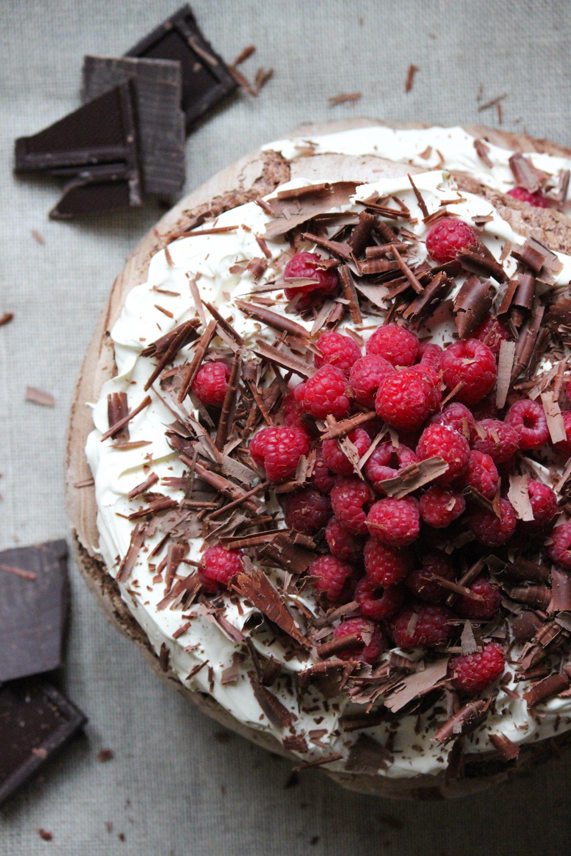Chocolate Meringue Layer Cake Meringue Cake Chocolate
