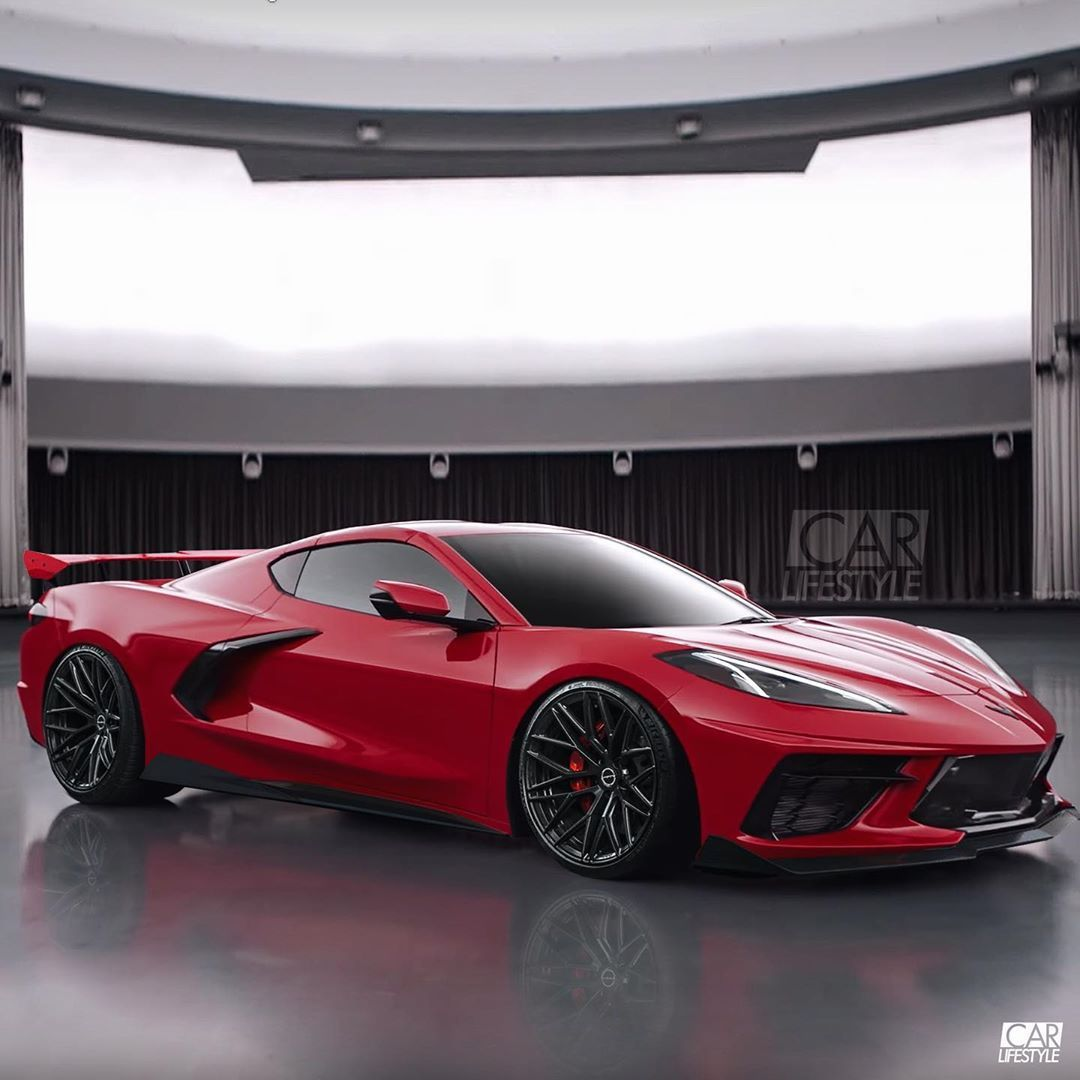 The 2020 Corvette C8 Stingray Lowered With Some Aero And Some New