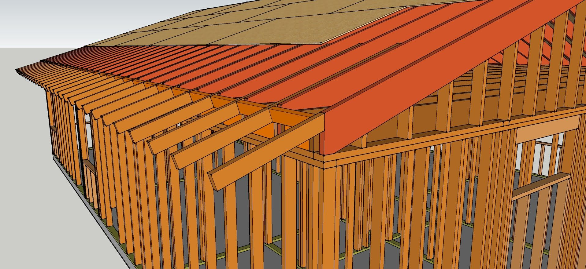 How To Extend or Add Gable Roof Overhang - Remodeling Tips ...
