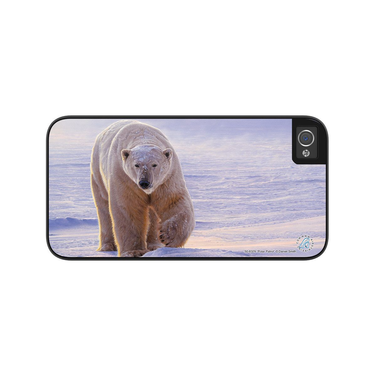 "Airstrike® Polar Bear iPhone 5 Case, Polar Bear iPhone 5s Case, Polar Bear iPhone Case Protective Polar Bear Phone Case ""Polar Patrol"" 50-8329"
