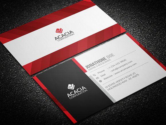 Colorful Business Card Colorful Business Card Unique Business Cards Design Business Card Template Design