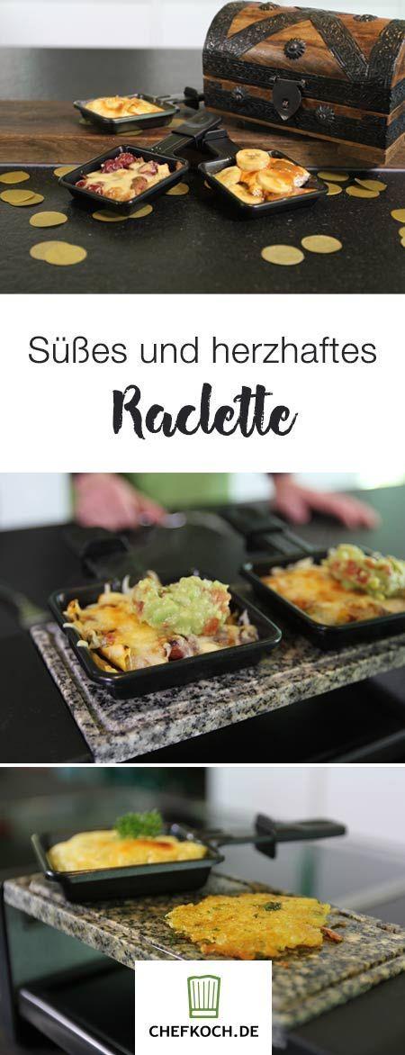 Silvester-Spezial: Süße und herzhafte Ideen fürs Raclette | Chefkoch.de Video