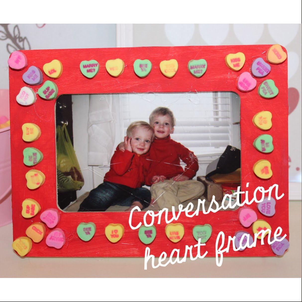 8 valentines day cards and crafts for kids heart frame 8 valentines day cards and crafts for kids jeuxipadfo Gallery