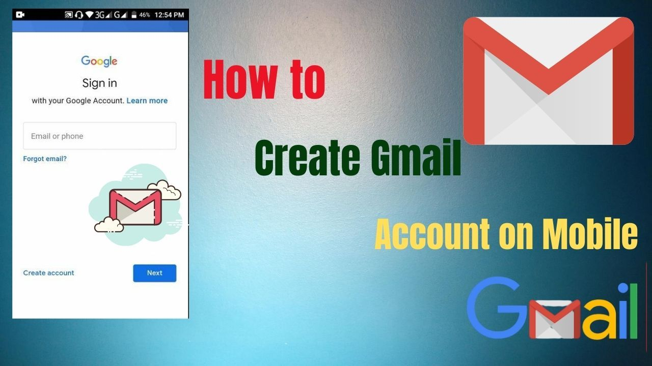 How To Create Gmail Account Mobile Gmail Sign Up Mail Account Sign Up In 2020 Gmail Sign Up Gmail Sign Forgot Email