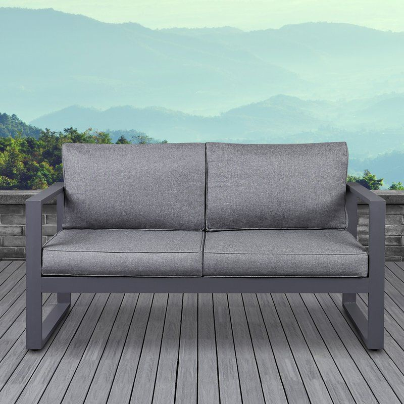 Baltic Loveseat With Cushions Outdoor Loveseat Love Seat Outdoor